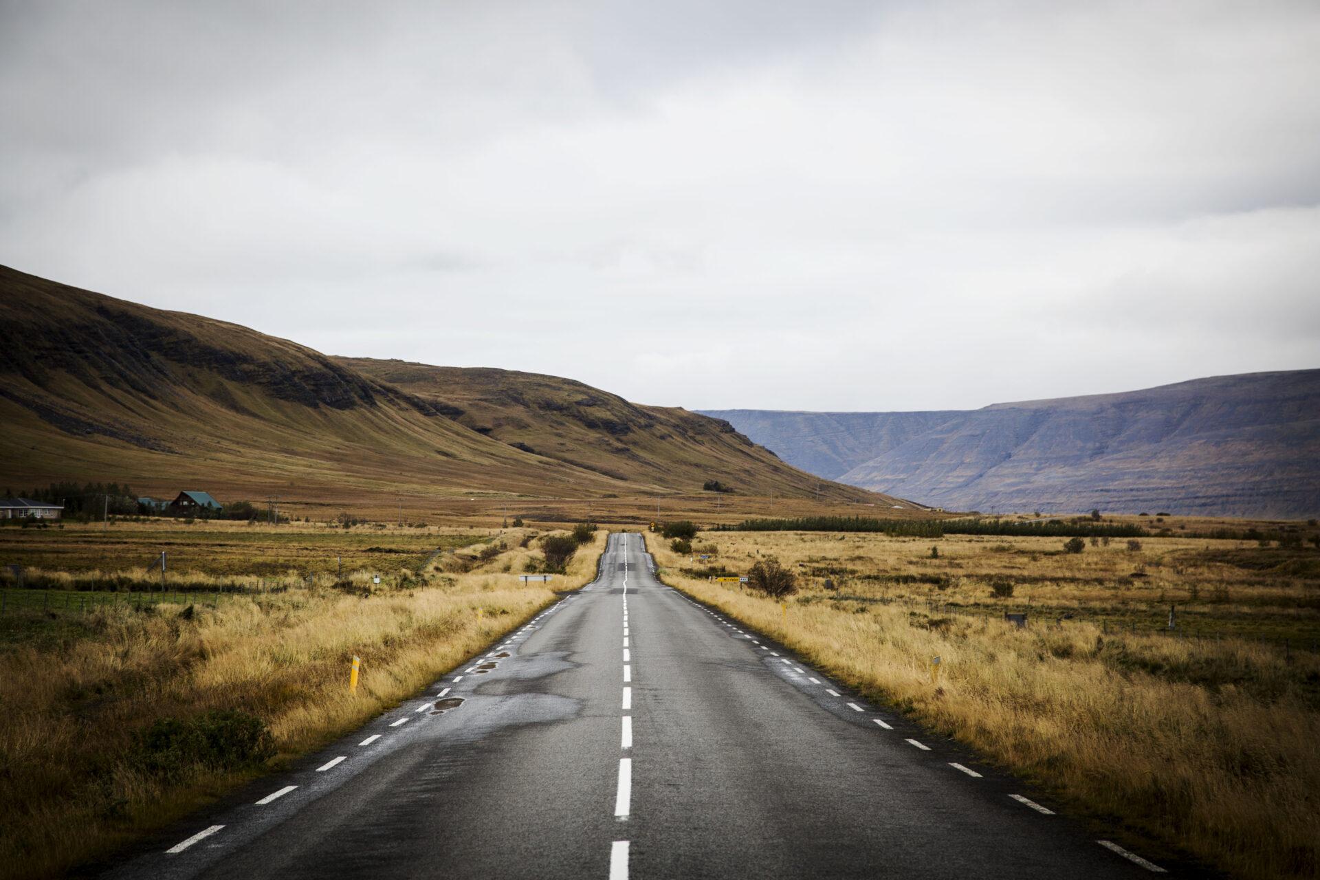 West-IJsland in herfstkleuren