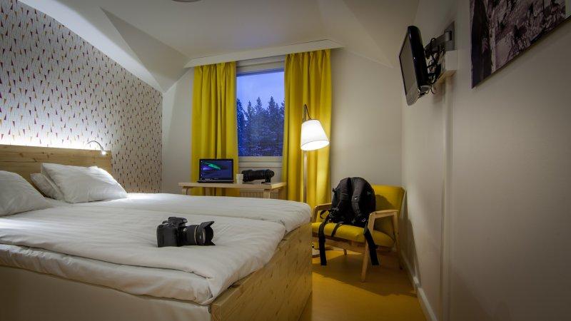 Standaard kamer in het Inari Kultahovi Hotel